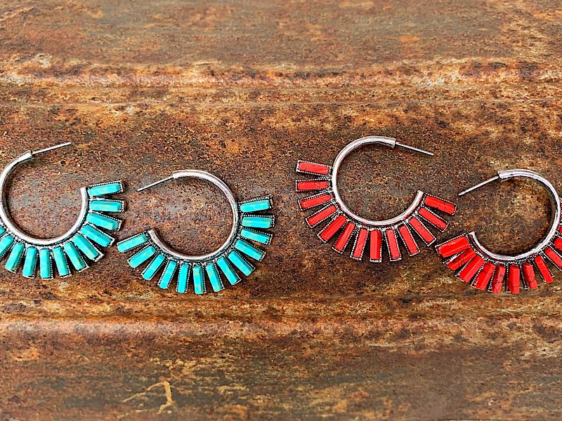 Franny Hoops,FRANNYHP-RED