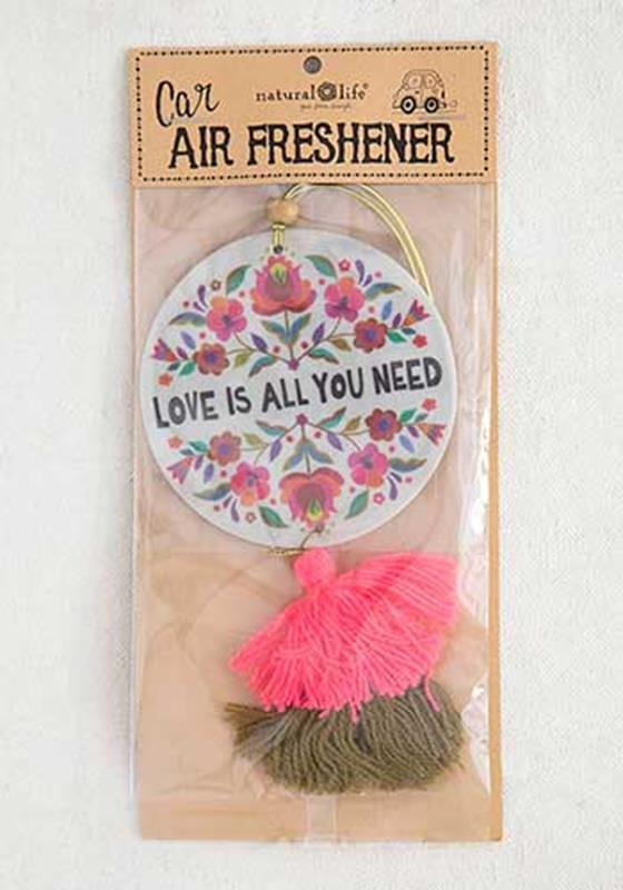 Love Is All You Need Air Freshener,AFR165