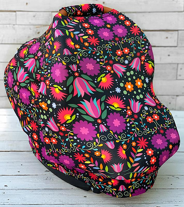 Fiesta Floral Carseat Cover,FFCARSEATCOVER