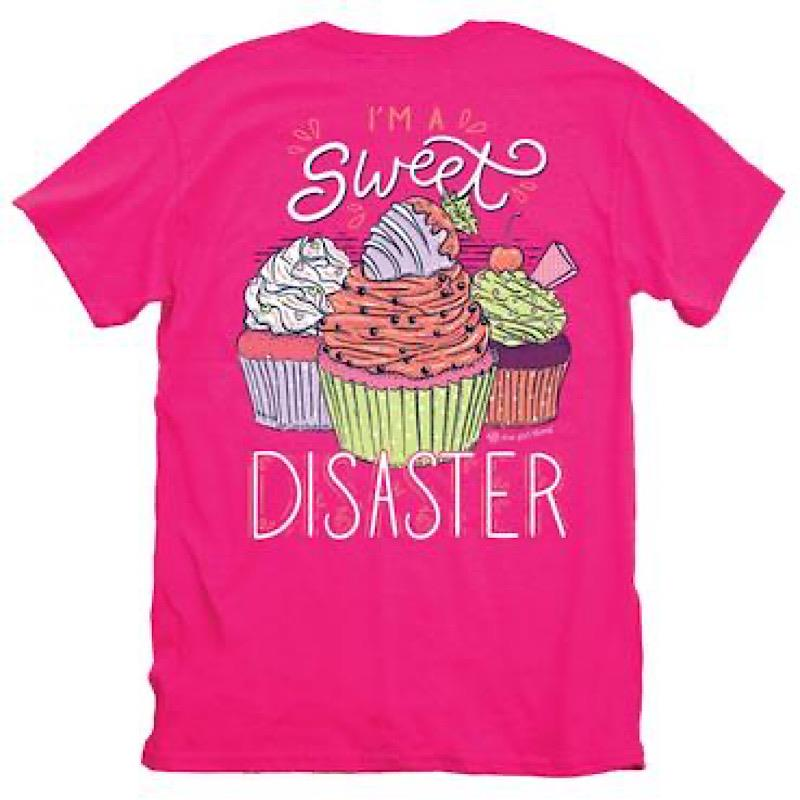 Sweet Disaster Tee,IT-16006-SMALL
