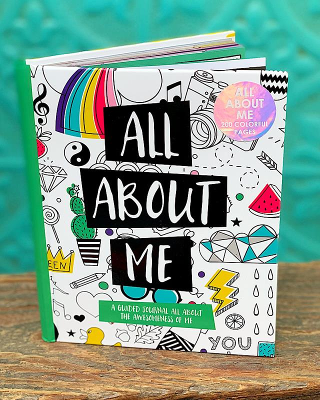 All About Me Journal,MJ120-20140A