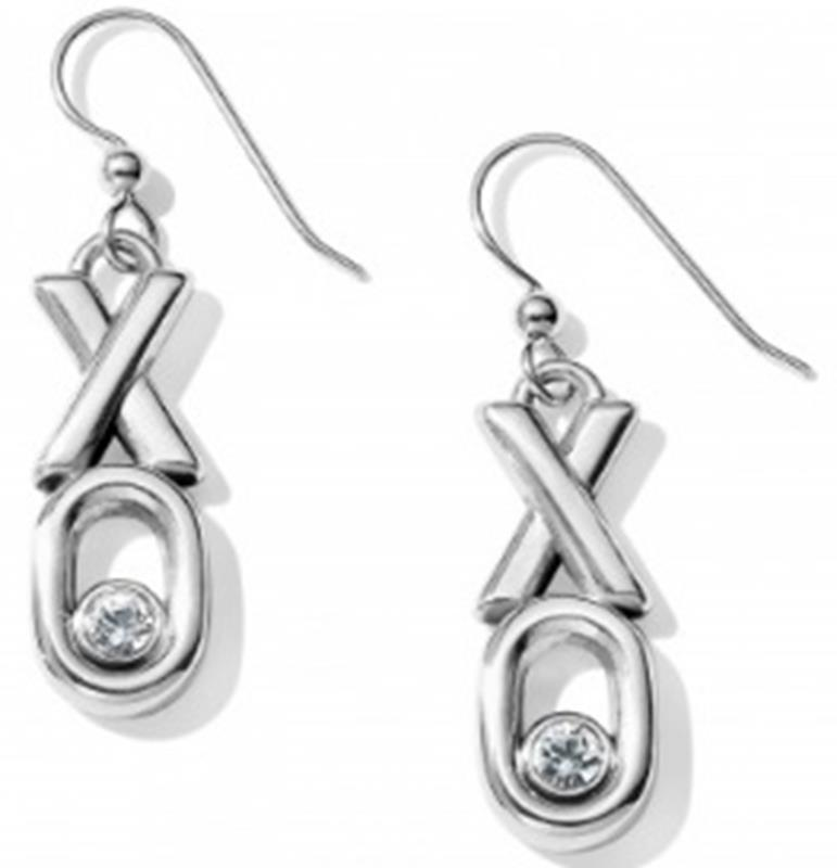 Hugs & Kisses French Wire Earrings,JA5771