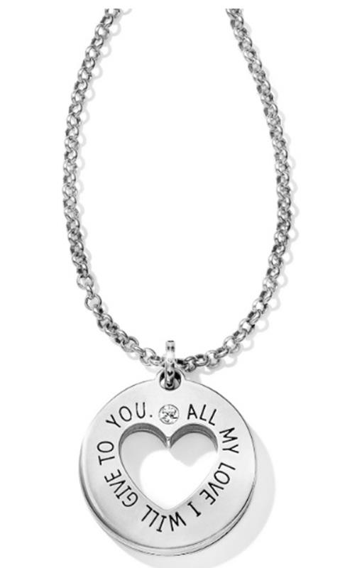 Circle Of Love Pendant Necklace,JM1591