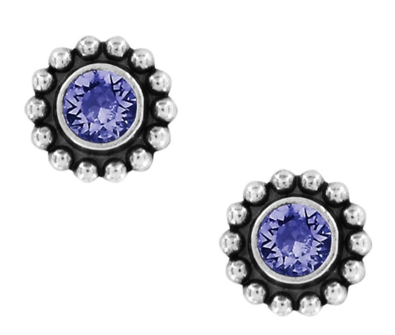 Twinkle Tanzanite Mini Post,J2049K