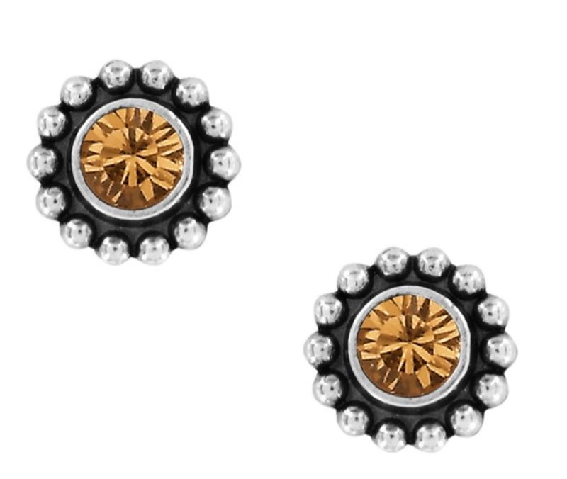 Twinkle Topaz Mini Post Earrings,J2049F