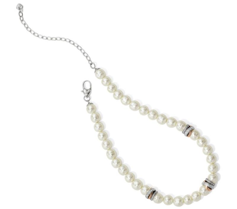 Neptunes Rings Pearl Short Necklace,JM104A