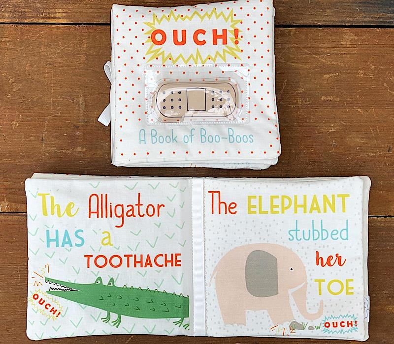Ouch Pouch Book,12600079