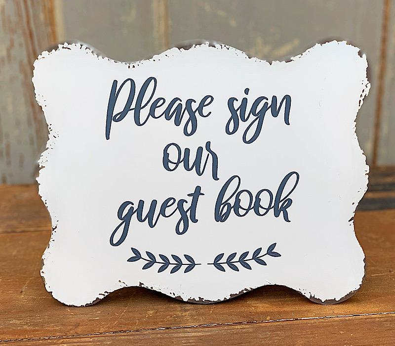 Guest Book Sign,AMR057