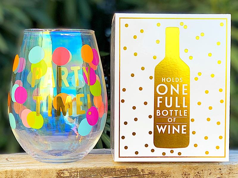 Party Time Jumbo Wine Glass,10-04859-211