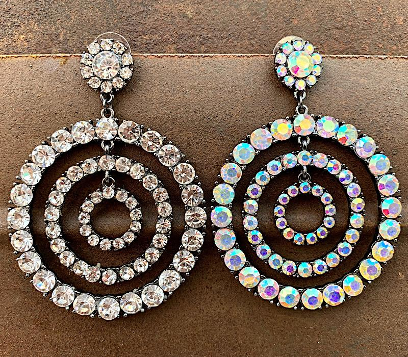 Nadia Earrings,NADIAER-AB