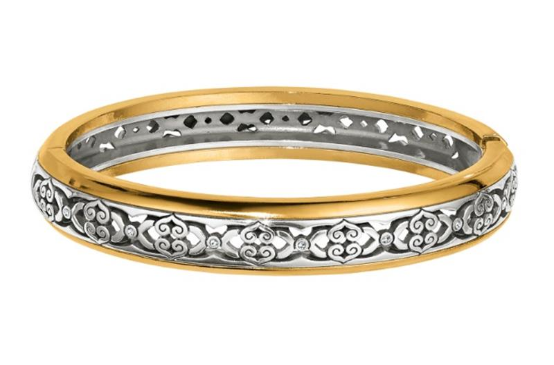 Intrigue Narrow Hinge Bangle,JF5862