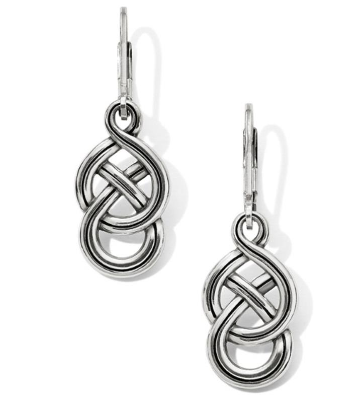 Interlok Braid Petite Leverback Earrings,JA6230