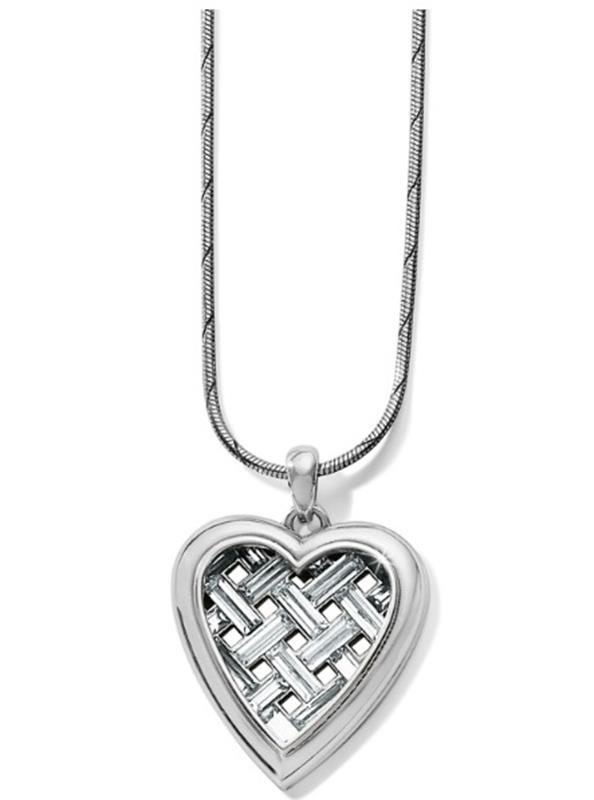 Love Cage Heart Short Necklace,JM2491