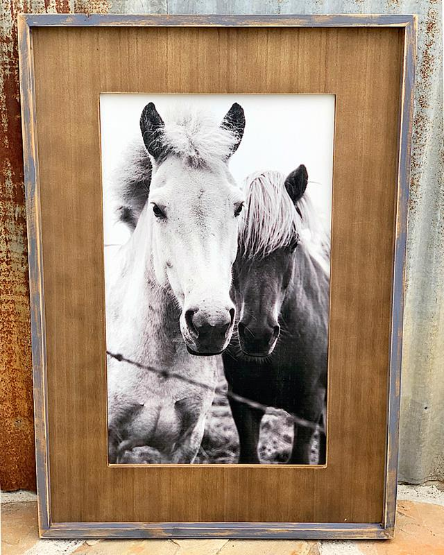 Framed Horse Picture,19997