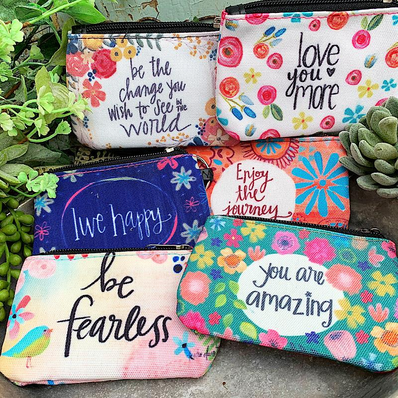 Floral ID Pouch,65773