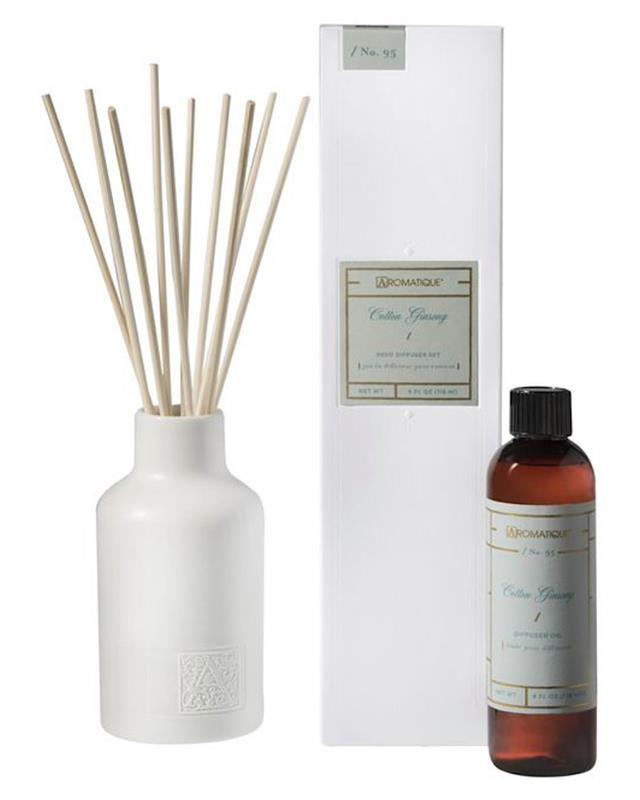 Cotton Ginseng Reed Diffuser Set,57634