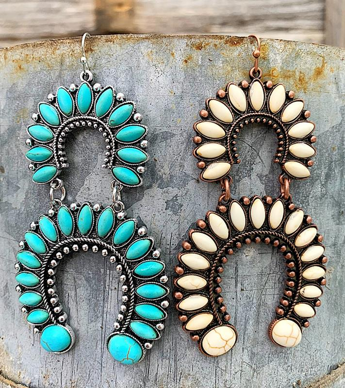 Sariya Earrings,SARIYAER-TURQ