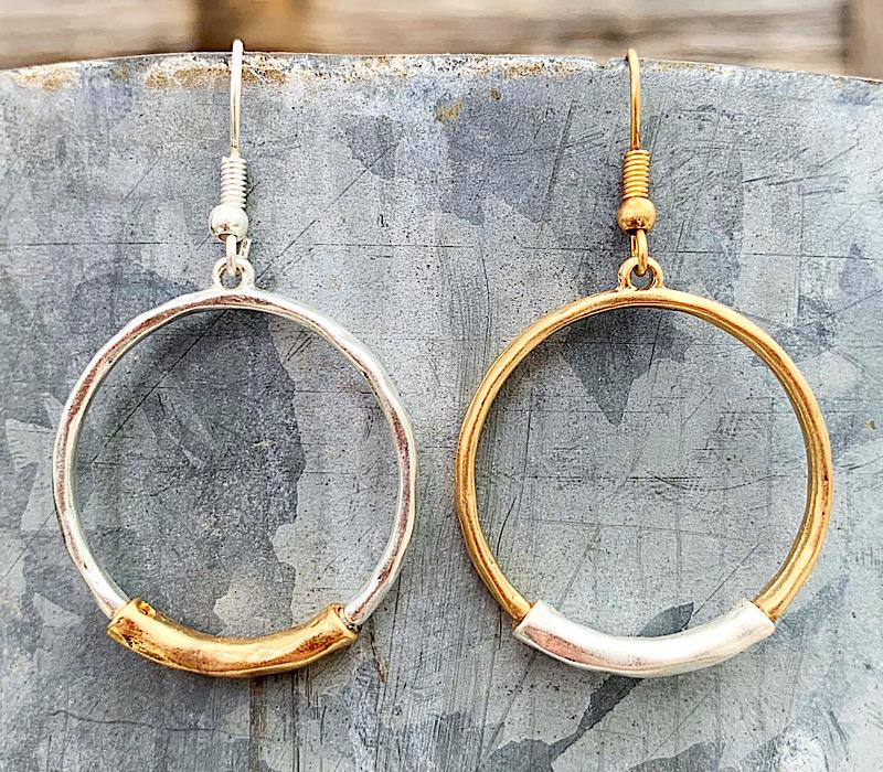 Erin Earrings,ERINER-MGOLD