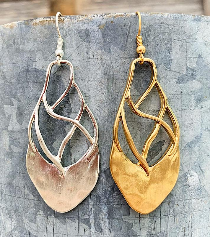 Krissi Earrings,KRISSIER-GOLD
