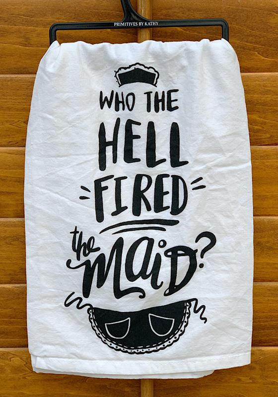 Fired The Maid Towel,33201