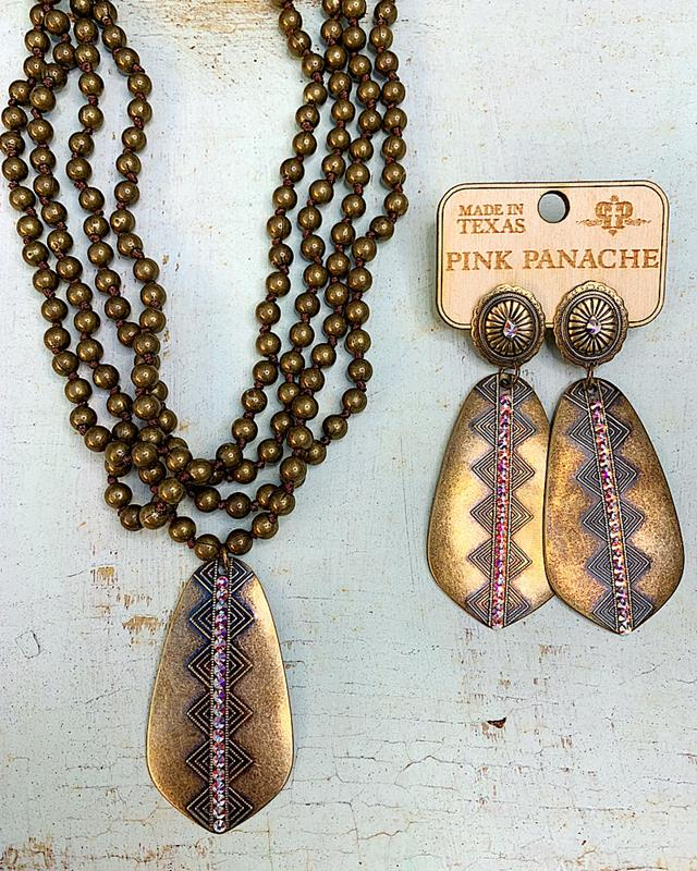 Tribal Gold Collection,1385-GOLD-ER