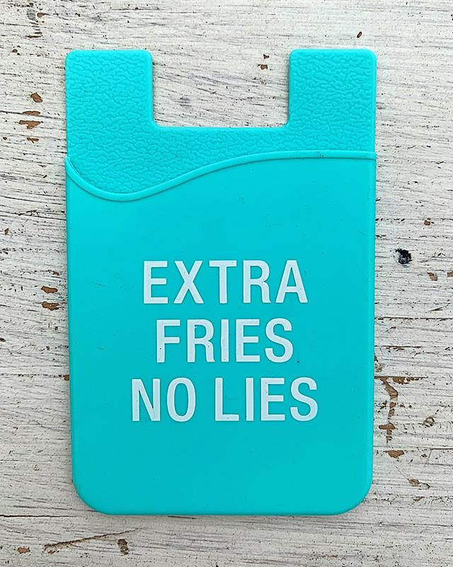 Extra Fries Silicone Phone Pocket,124920