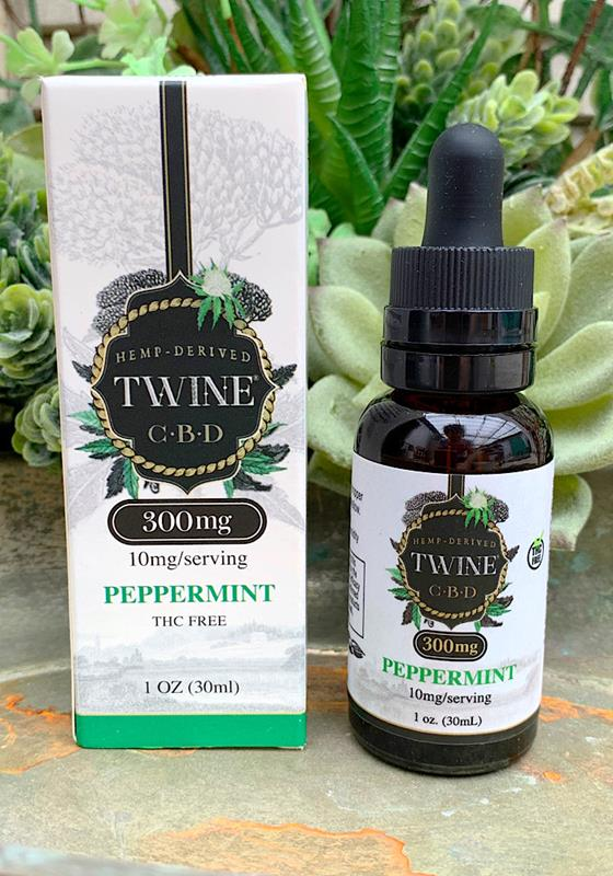 30mL Peppermint CBD Oil 10mg/Serving,30-MINT-10