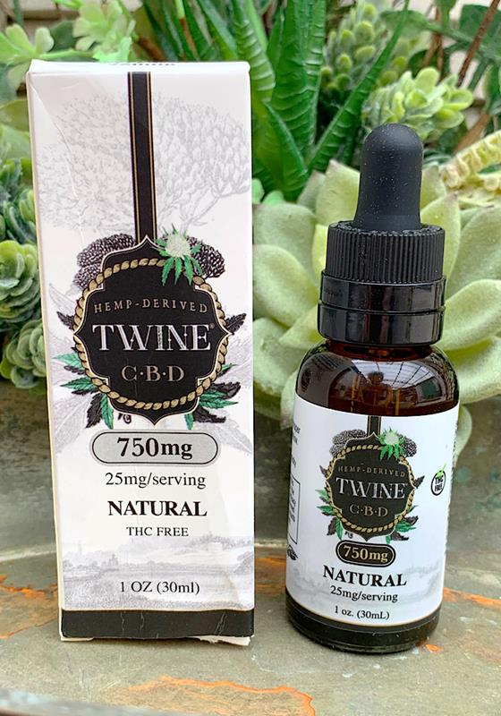 30mL Natural Unscented CBD Oil 25mg/Serving,30-NAT-25