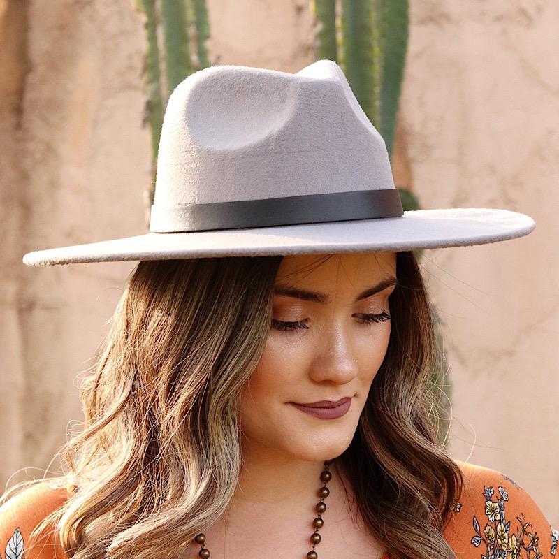Darcy Hat,MMT7252-GRAY
