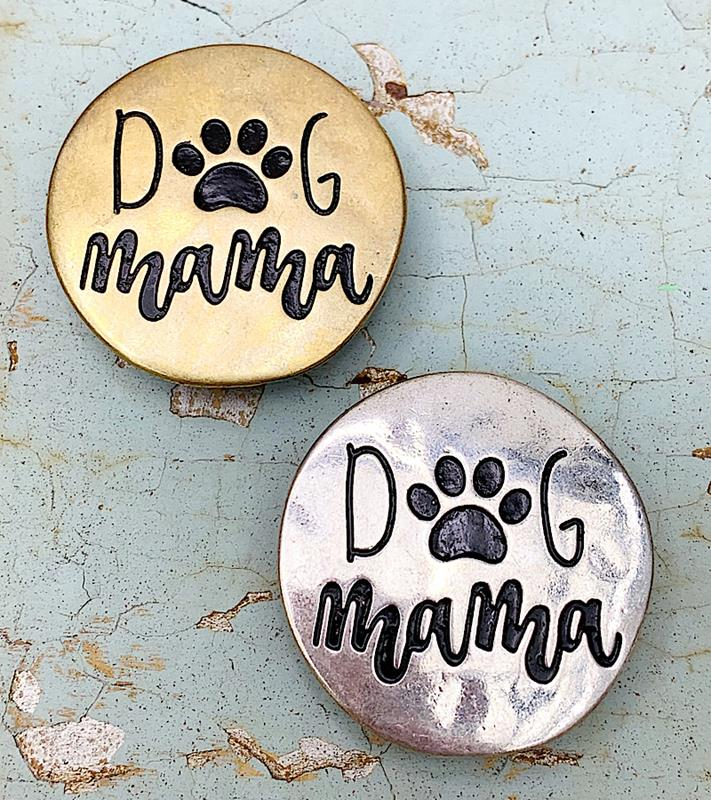 Dog Mama Phone Grip,DOGMAMAGRIP-GOLD