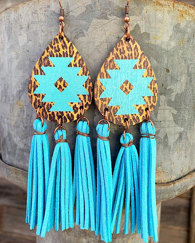 Dillon Tassel Earrings,DILLONTASER