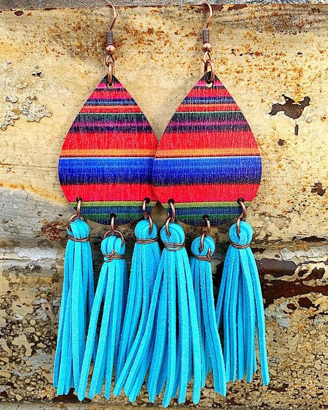 Dallas Tassel Earrings,DALLASTASER