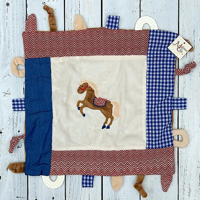 Carson Colt Taggie Blanket,81751