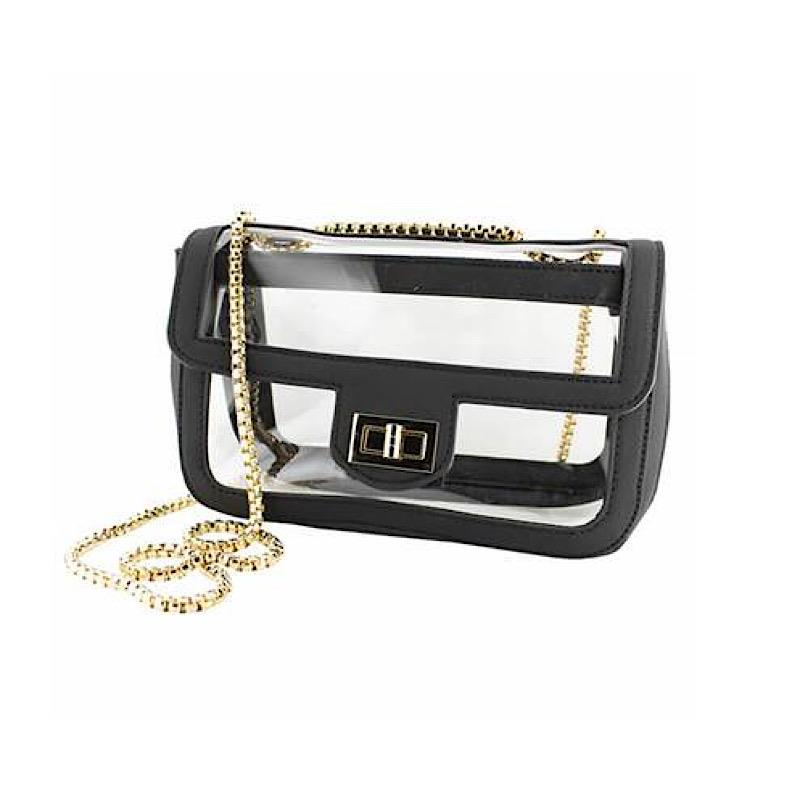 Charlotte Black Crossbody,CD-CRB-CON-BLACK