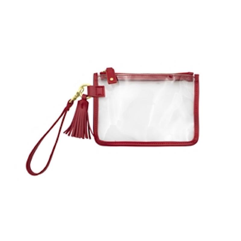 Waverly Red Wristlet,CD-WRST-201/CRIMSON