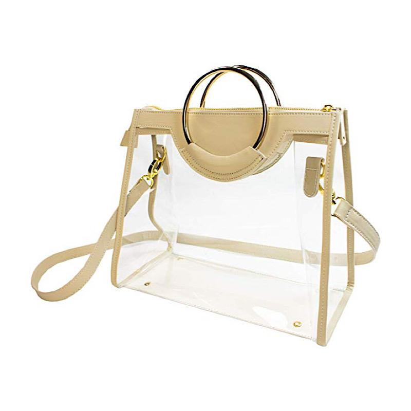 Callia Tan Classic Ring Tote,CD-CRT-7534/TAN