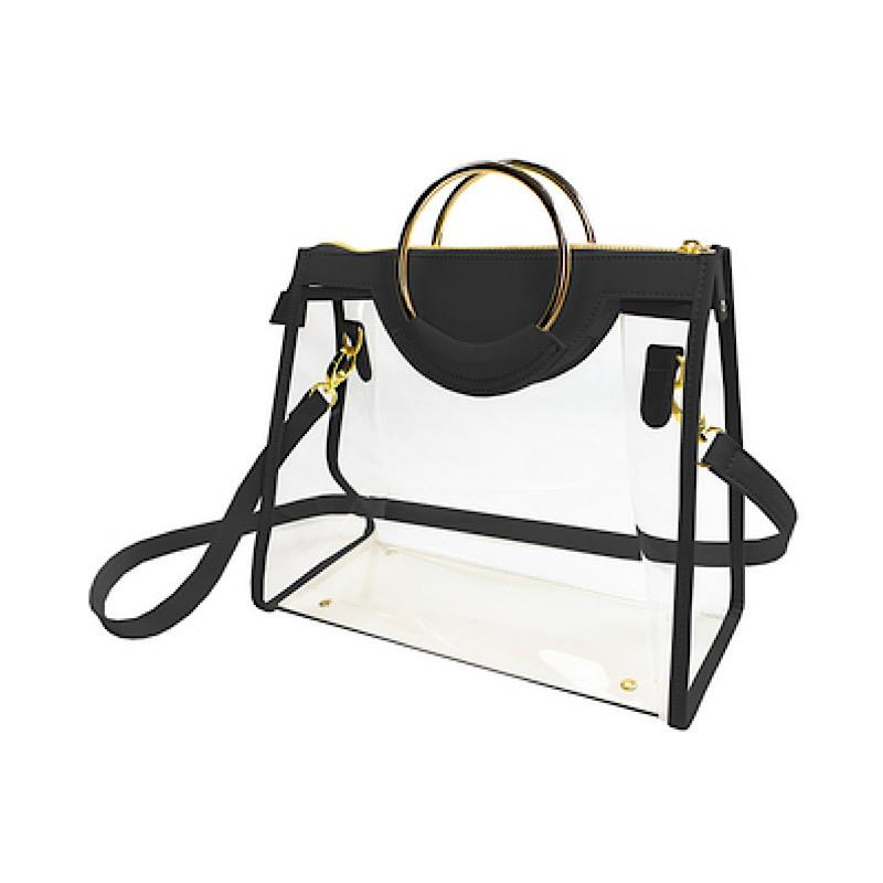 Callia Black Classic Ring Tote,CD-CRT-BLACK