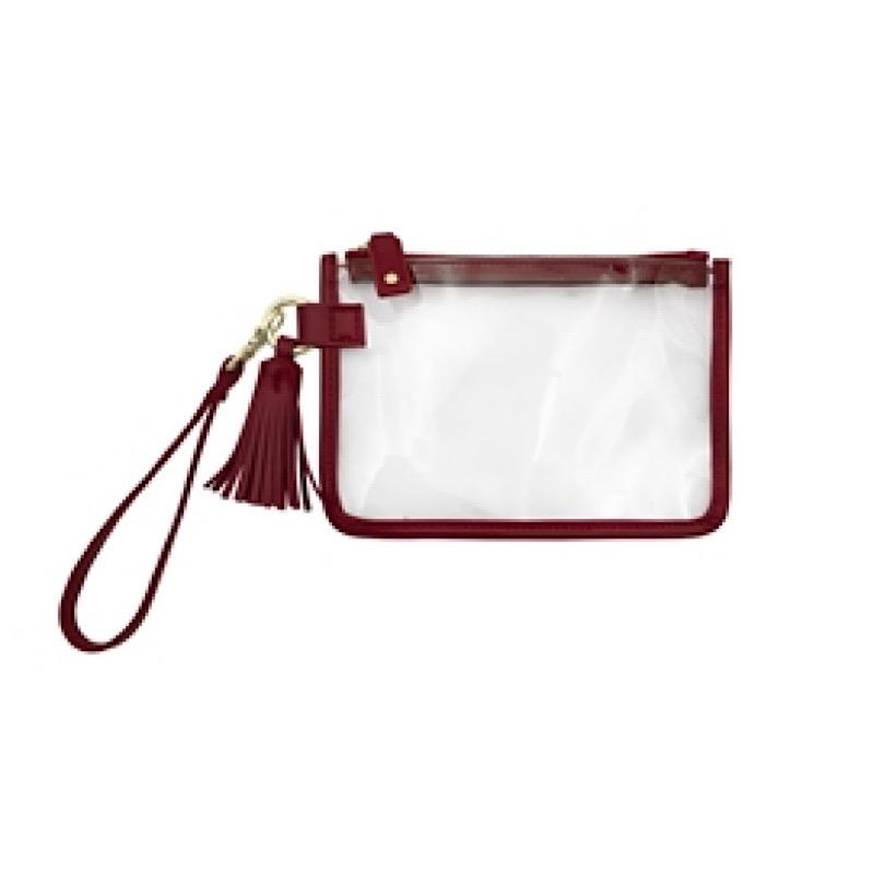 Waverly Maroon Wristlet,CD-WRST-505/MAROON