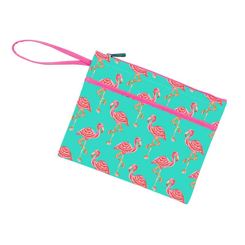 Tickled Pink Wristlet,M726VL-TICKLE