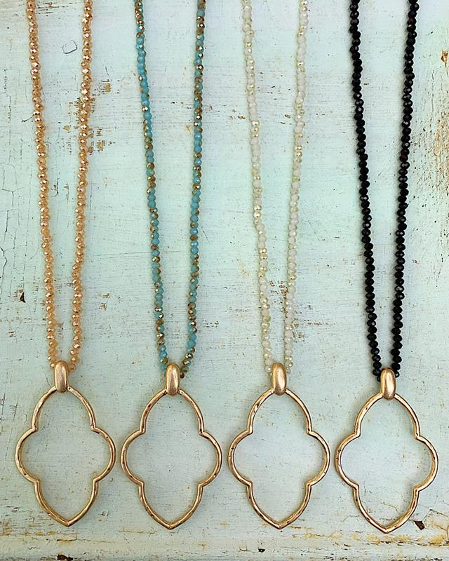 Marli Necklace,MARLINK-IVORY