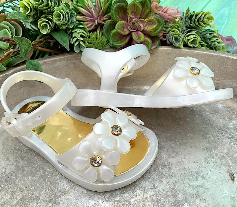 Daisy Pearl Sandals,01-5353-5