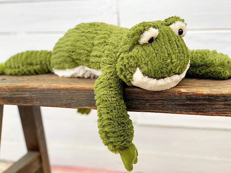 Cozy Toes Frog,27120