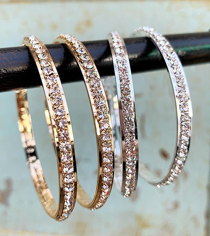 Contessa Hoops,CONTESSAHP-GOLD