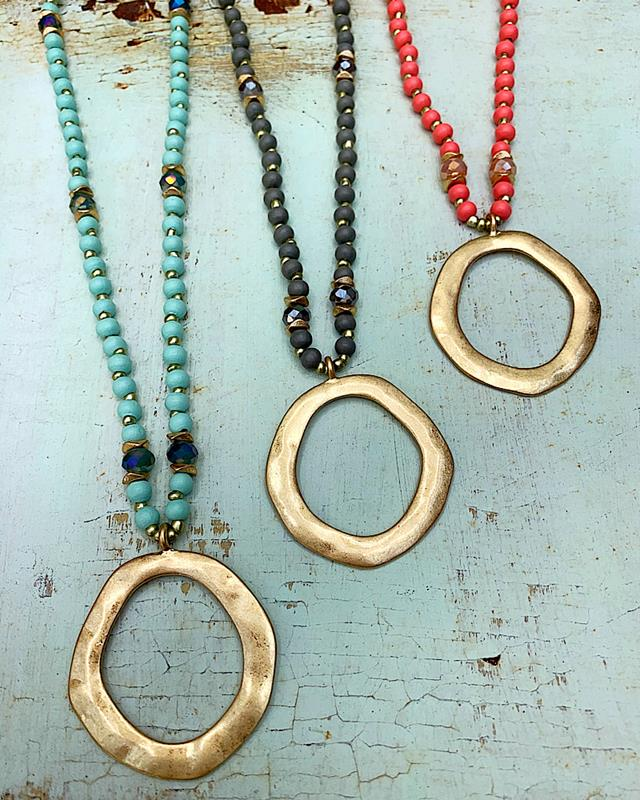 Charly Necklace,CHARLY-NK-MINT