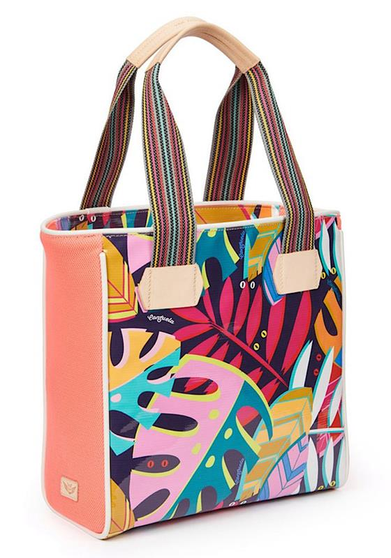 Coral Tropical Classic Tote,6097