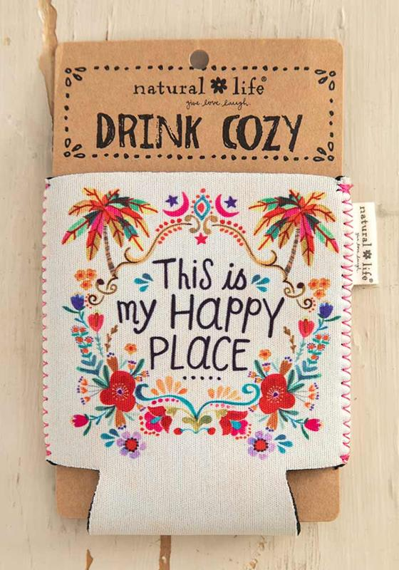 Happy Place Drink Sleeve,CZ093