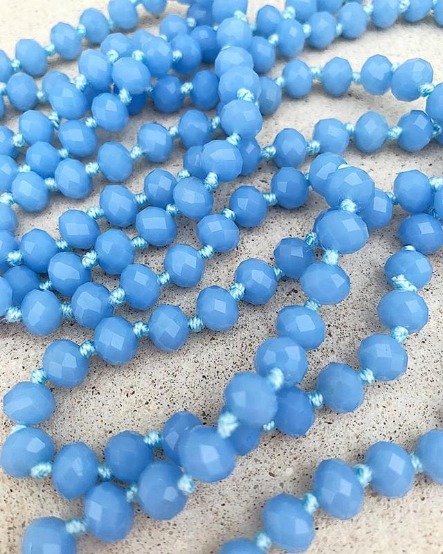 "Dreamy Blue Brea 60"" Beads,BREA-DREAMYBLUE"