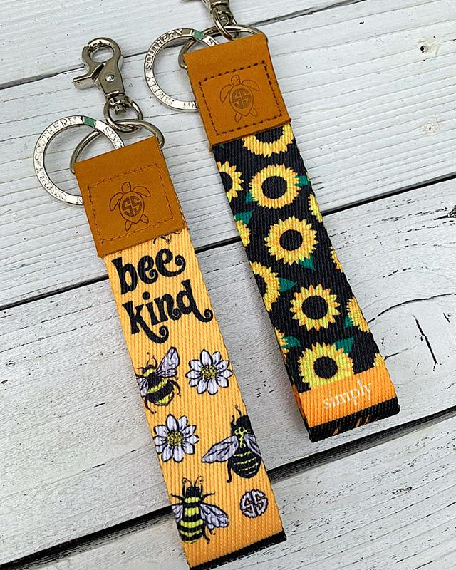 Sunny Soft Keyfob,0120-KEYBRASS-BEE