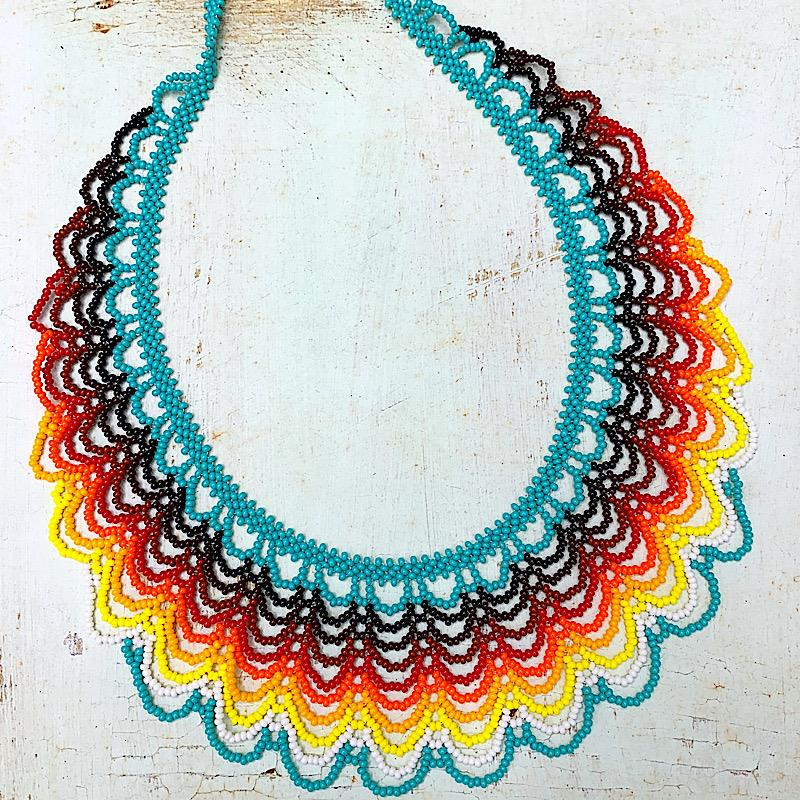 Scallop Collar Necklace,SCALLOP COLLAR NECKL