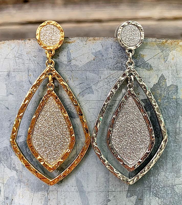 Chandler Earrings,CHANDLER-ER-GOLD
